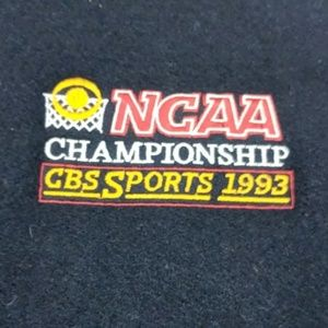 Vintage 1993 NCAA CBS Sports Varsity Wool Jacket